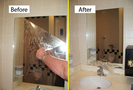 Commercial - Bathroom Mirror